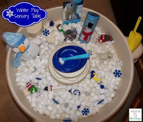 sensory table ideas for preschool winter theme play table learn amp link with linky 886