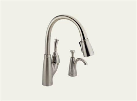 delta allora kitchen faucet delta allora single handle pull kitchen faucet with