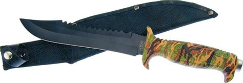 F18429ca Frost Cutlery Jungle Fever Vi Bowie Knife