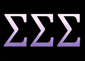 tri sigma letters tri sigma pinterest With tri sigma letters