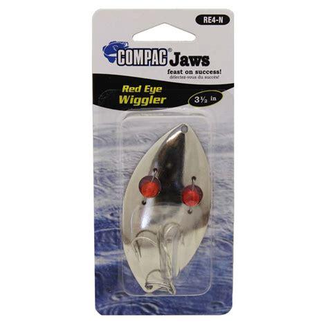 lures eye fishing nickel assorted wiggler