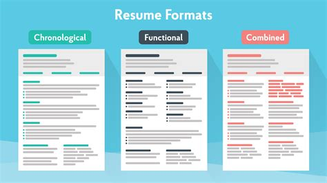 resume formats guide   pick
