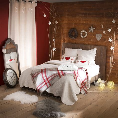 10 bedroom decorating ideas inspirations - Bedrooms Decorated For Christmas