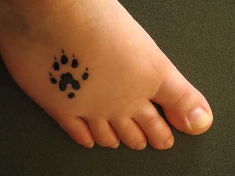 Cross Music Note Tattoo dog paw tattoo  foot 600 x 450 · jpeg