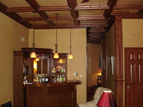 Basement Wood Ceiling