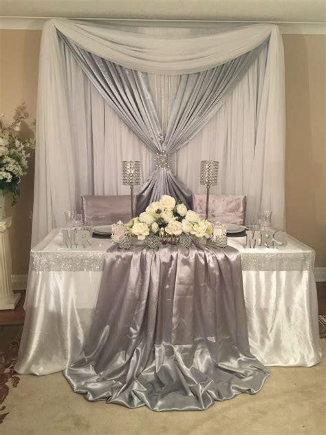 Sweetheart table wedding decor Wedding decorations