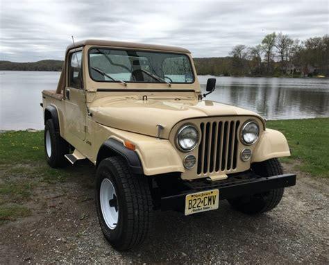 cj8 jeep 1985 jeep cj8 scrambler for sale on bat auctions closed