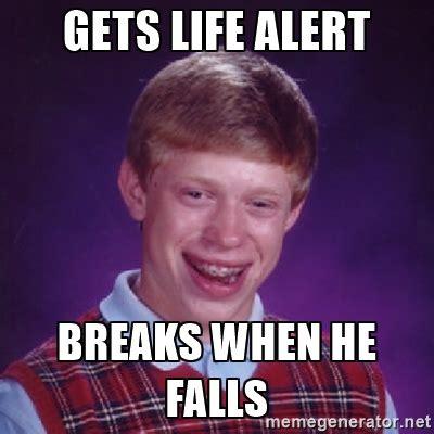 Life Alert Meme - funny life alert memes shareology
