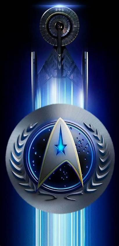 Star Wallpapers Trek Discovery Backgrounds Symbol Crew