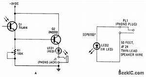 ir remote extender basic circuit circuit diagram With ir extender circuit