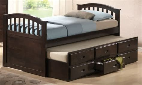 Bunk Beds With Trundle And Storage by Trundle Beds With Storage Designs Homesfeed