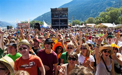 Also schnapp dir dein zelt, bier und deine freunde. Open Air Gampel | Valais Suisse