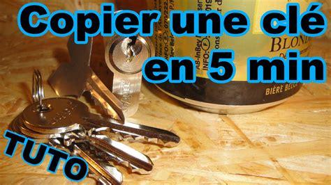 comment cuisiner une canette copier une clé avec une canette en moins de 5 minutes