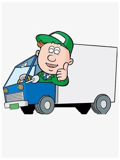 Driver Truck Clipart Cartoon Getdrawings