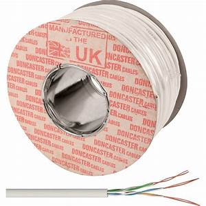 Doncaster Cables Telephone Cable 3 Pair X 100m White