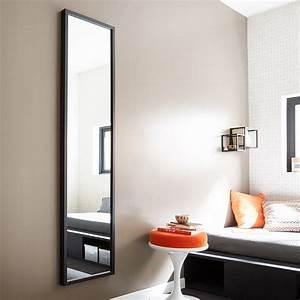 Miroir 160 Cm : miroir basic noir x cm leroy merlin ~ Teatrodelosmanantiales.com Idées de Décoration
