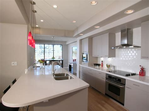 Galley kitchen   The basic design of this kitchen is the