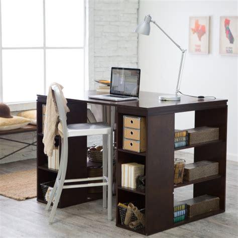counter height computer desk belham living sullivan counter height desk espresso