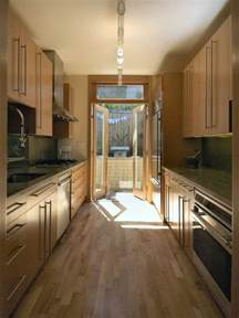 narrow galley kitchen design ideas galley kitchen with narrow island images