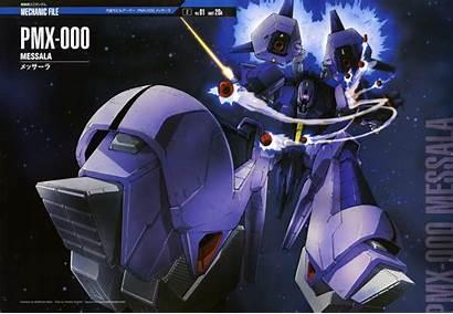 Gundam Mobile Suit Zeta Messala Wallpapers Perfect