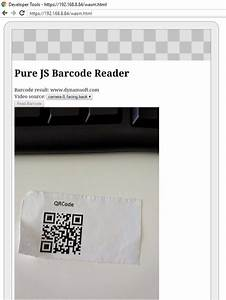 Building HTML5 Barcode Reader With Pure JavaScript SDK