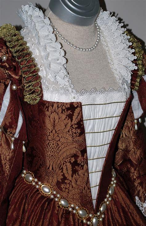 burgundy gold venetian renaissance gown starlight