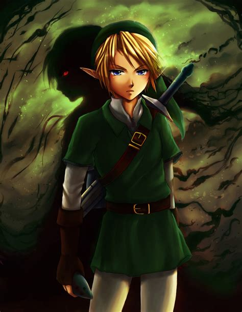 Link Shadows Of The Past The Legend Of Zelda Fan Art