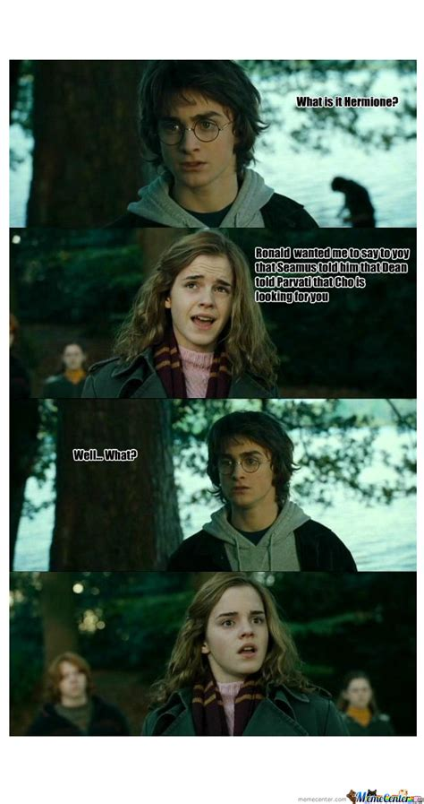 Hermione Meme - image gallery harry and hermione memes