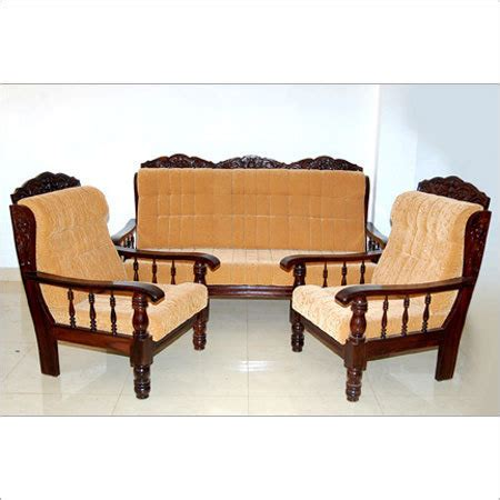 Wooden Sofa Set With Price by Luxury Wooden Sofa Set At Rs 12000 S व डन स फ
