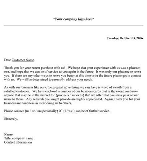 business   letter template alternate