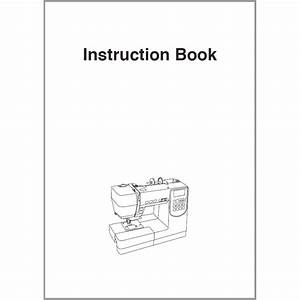 Instruction Manual  Janome M7200   Sewing Parts Online