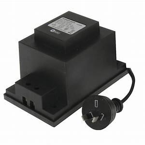 240v to 24vac 150va lighting transformer jaycar With outdoor lighting transformer nz