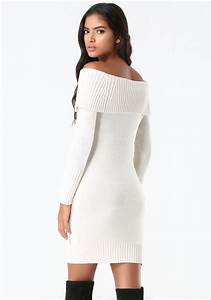 Off White Off The Shoulder Sweater | Fashion Skirts