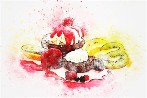 cake fruits food  image  pixabay