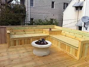 Deck Bench Seat Yelp … Back dec…
