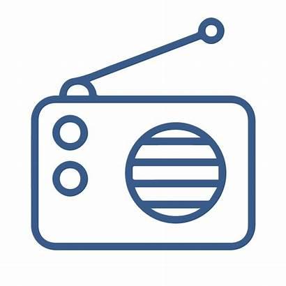 Radio Icon Fm Wireless Receiver Broadcast Mobile