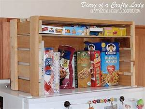 Fridge, Top, Crate, To, Store, Cereal, Boxes