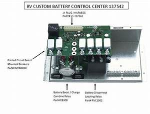 Battery Control Center  By Rv Custom Products 137542