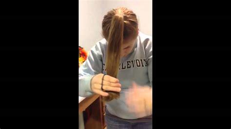 diy layered haircut     minutes youtube