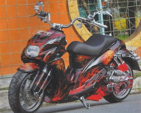 Modifikasi Mio Sporty Murah by Modifikasi Mio Soul Murah Modifikasi Motor Kawasaki