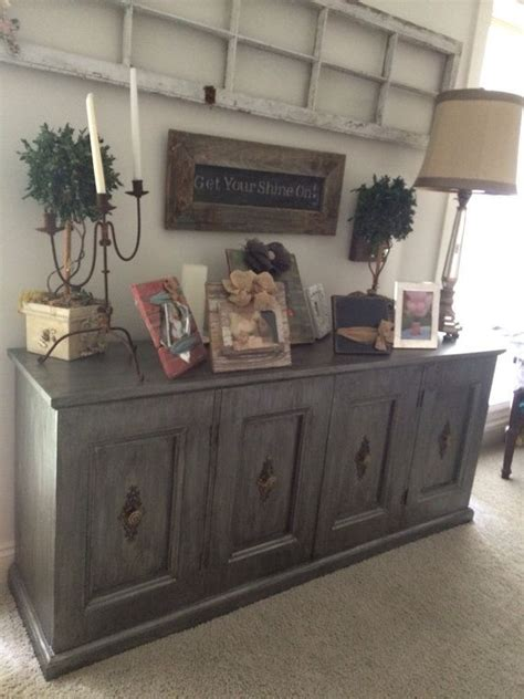 refinished buffet ideas  pinterest painted