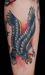 Sailor Jerry Eagle Tattoo by Adam Lauricella: TattooNOW