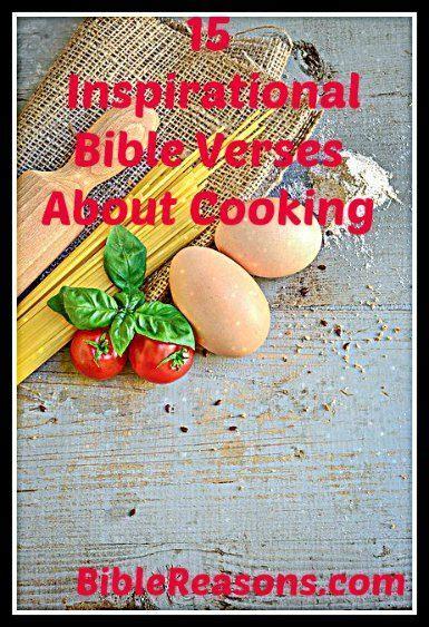 cooking verses bible  inspirational