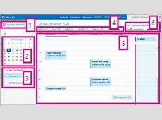 Calendario en Outlook Web App Outlook