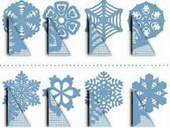 How To Make Snowflake Stencil