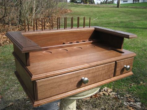 Fly Tying Bench Woodworking Plans by Woodwork New Fly Tying Station Plans Pdf Plans