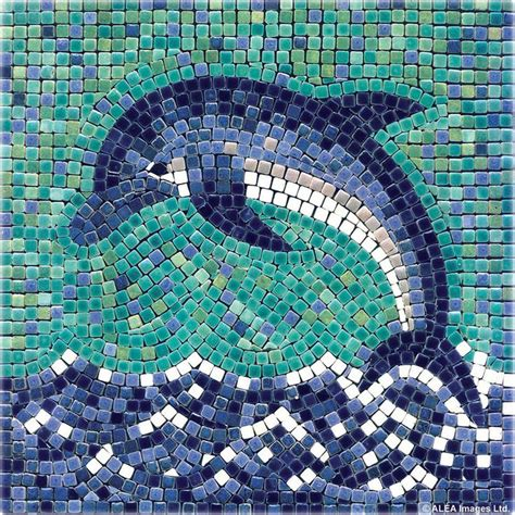 mosaic table top kit 1000 images about dolphin mosaics on pinterest ceramics