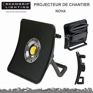 Projecteur De Chantier : projecteur de chantier nova 50 w 5000 lumens 8990701 ~ Edinachiropracticcenter.com Idées de Décoration