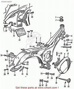 Honda Cb92 Benly Super Sport 125  General Export  Frame