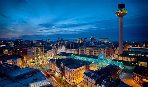 City in Liverpool England